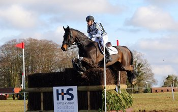 Grid post andrew hoy at belton horse trials in 2016